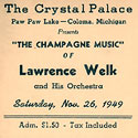 Paw Paw Lake -- Lawrence Welk